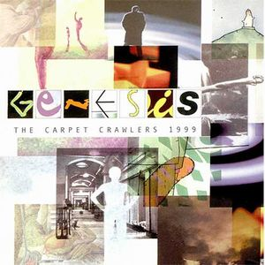 Genesis - The Carpet Crawlers 1999 5' promo CD CD (album) cover