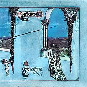 Trespass by GENESIS album cover