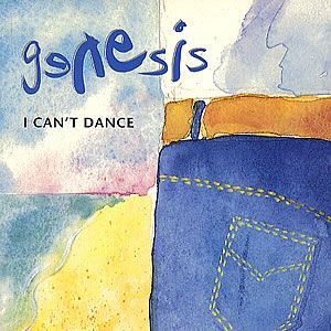 Genesis I Can't Dance  album cover