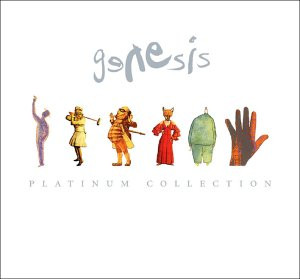 Genesis - The Platinum Collection CD (album) cover