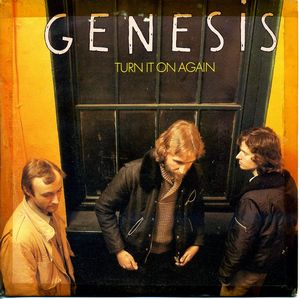 Genesis Turn it on again album cover