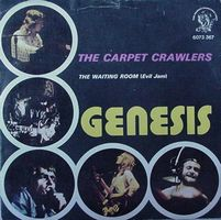 Genesis The Carpet Crawlers / The Waiting Room album cover
