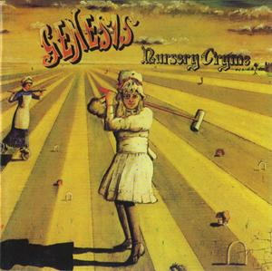 Genesis - Nursery Cryme CD (album) cover
