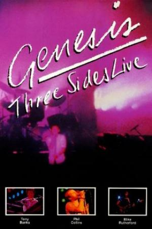 Genesis - Three Sides Live (VHS) CD (album) cover