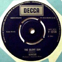 Genesis The Silent Sun / That's Me album cover
