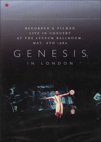 Genesis In London album cover