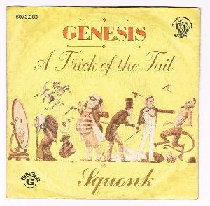 Genesis A Trick Of The Tail / Squonk album cover