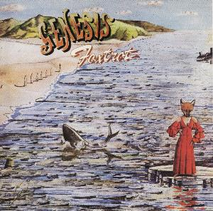 Genesis - Foxtrot CD (album) cover