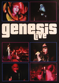 Genesis Genesis Live Video album cover