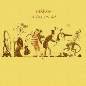 Genesis A Trick Of The Tail album cover