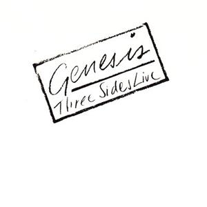 Genesis Three Sides Live album cover