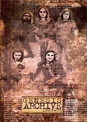 Genesis Archive 1967-1975 album cover