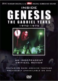 Genesis - Inside Genesis The Gabriel Years 1970-1975 CD (album) cover
