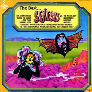 The Best... by GENESIS album cover