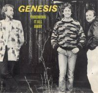 Genesis - Throwing It All Away  CD (album) cover