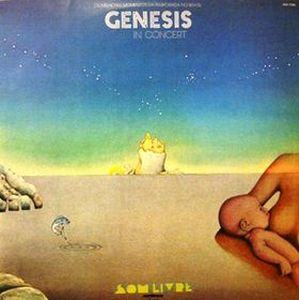 Genesis Genesis in Concert album cover