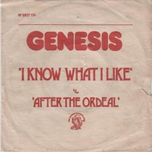 Genesis I Know What I Like (In Your Wardrobe) / After The Ordeal album cover