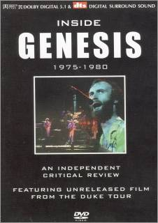 Genesis Inside Genesis 1975-1980 album cover