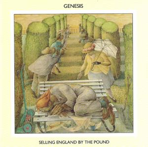 Genesis Selling England By The Pound album cover