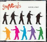 Genesis Never a Time album cover