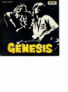 Genesis GENESIS album cover