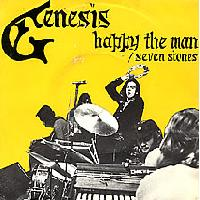 Genesis Happy The Man  album cover