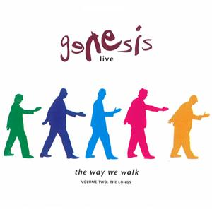 Genesis - Live - The Way We Walk Volume Two - The Longs CD (album) cover