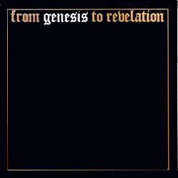 Genesis - From Genesis to Revelation CD (album) cover
