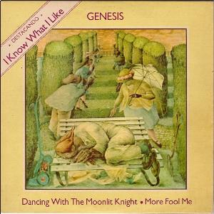 I Know What I Like (In Your Wardrobe) by GENESIS album cover