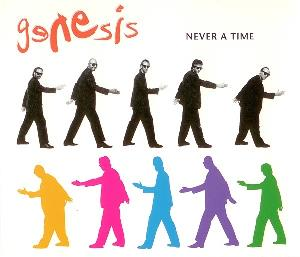 Genesis - Never a Time CD (album) cover