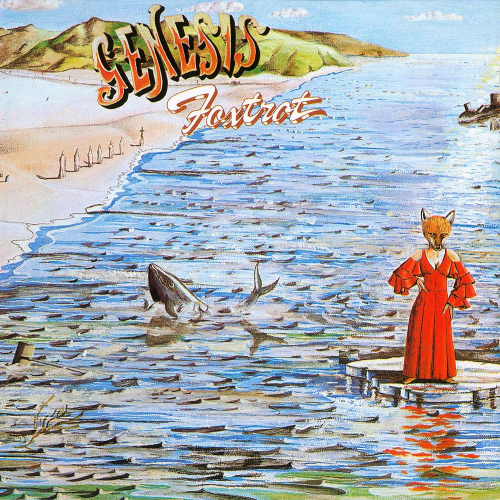 Foxtrot by GENESIS album cover