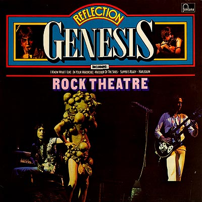 Genesis - Reflection - Rock Theatre CD (album) cover