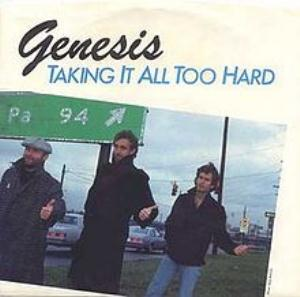 Genesis Taking it all too hard album cover
