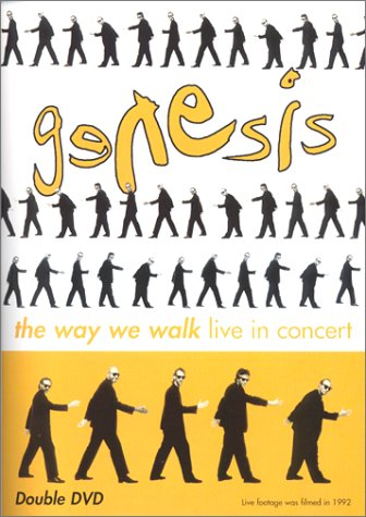 Genesis The Way We Walk (DVD) album cover