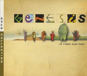 Genesis - 14 From Our Past CD (album) cover