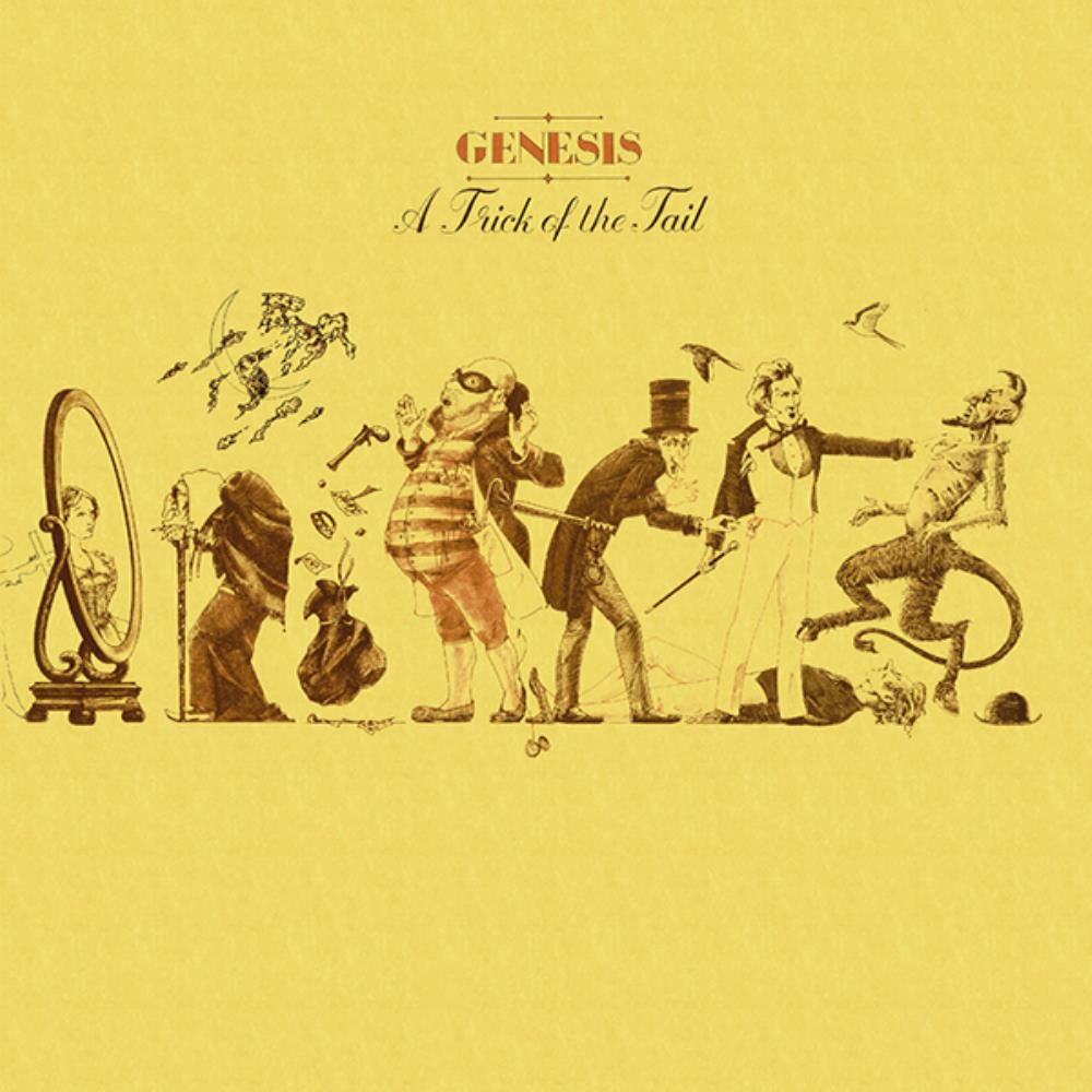 Genesis - A Trick Of The Tail CD (album) cover