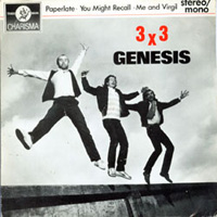 Genesis - 3 X 3 CD (album) cover