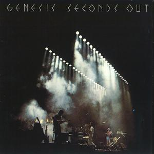 Genesis - Seconds Out CD (album) cover