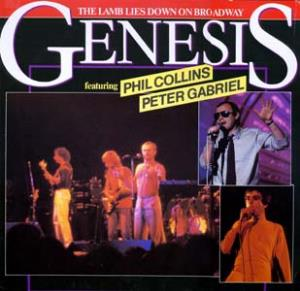 Genesis The Lamb Lies Down On Broadway album cover
