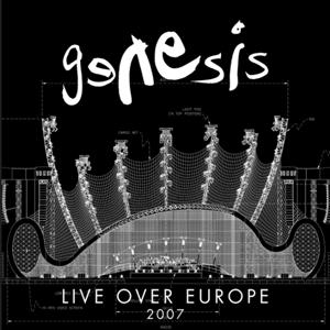 Genesis - Live Over Europe 2007 CD (album) cover