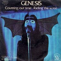 Genesis - Counting Out Time / Riding The Scree  CD (album) cover