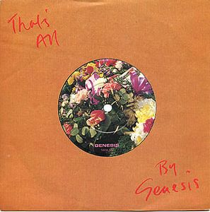 Genesis That's All album cover