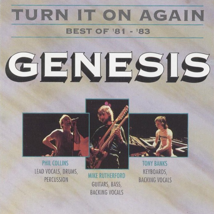 Genesis Turn It On Again - Best Of 81-83 album cover