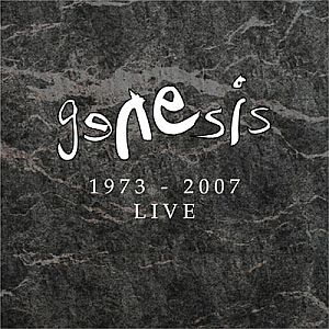 Genesis - Genesis Live 1973 - 2007 CD (album) cover