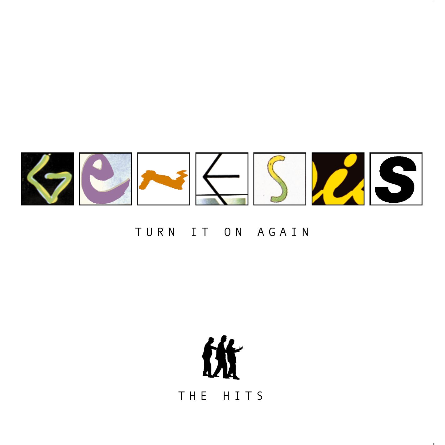 Genesis - Turn It On Again - The Hits CD (album) cover