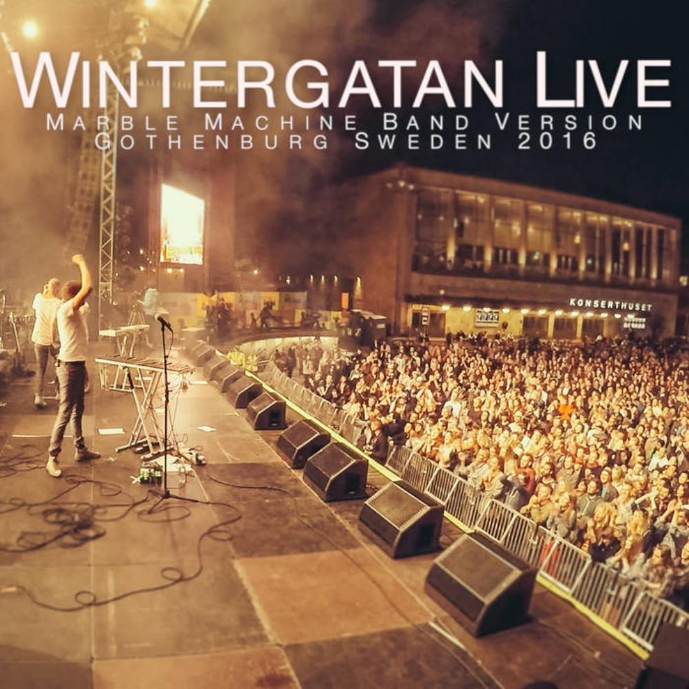 Wintergatan Marble Machine Live At Götaplatsen 2016 album cover