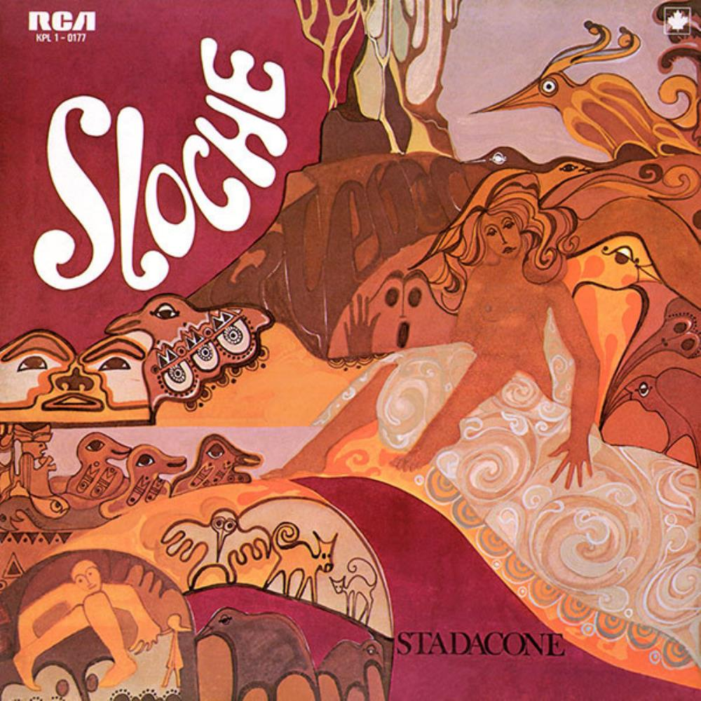 Sloche - Stadaconé CD (album) cover