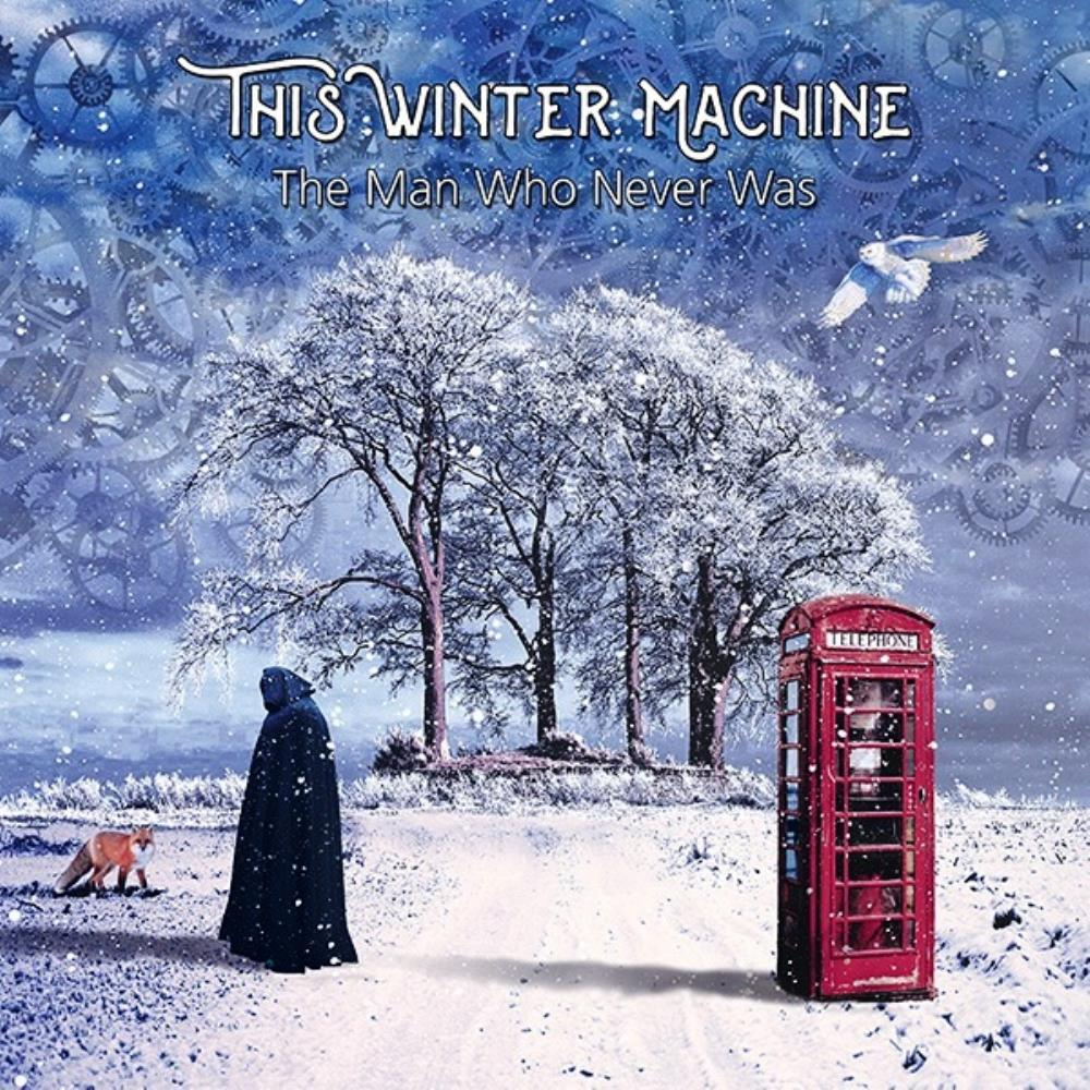 This Winter Machine - The Man Who Never Was CD (album) cover