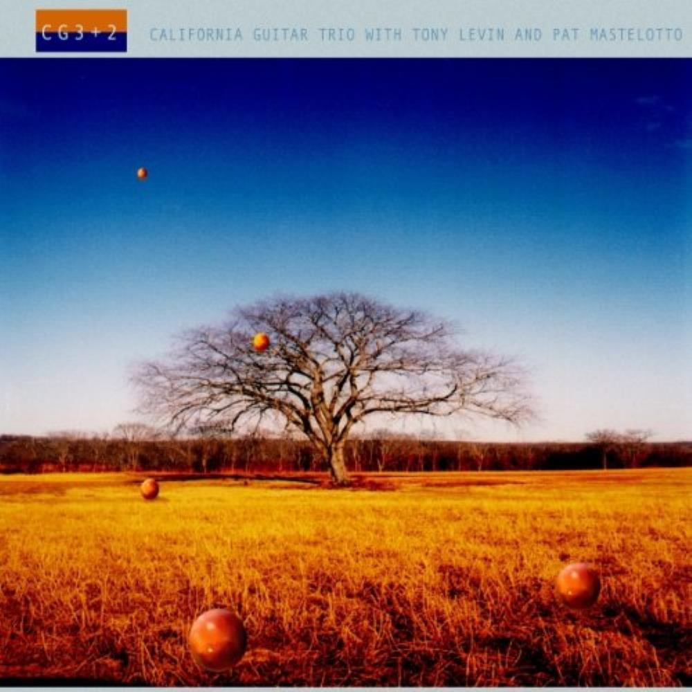California Guitar Trio with Tony Levin & Pat Mastelotto: CG3 + 2 by CALIFORNIA GUITAR TRIO album cover