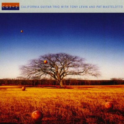 California Guitar Trio - CG3 + 2  CD (album) cover